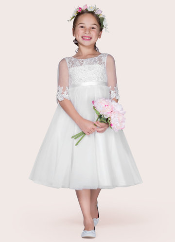 Azazie Haizea Flower Girl Dress