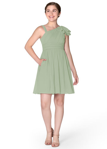 Azazie Beau Junior Bridesmaid Dress