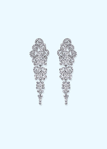 back_Vintage Chandelier Drop Earrings