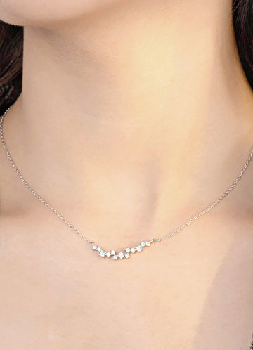 Simply You Crystal Necklace