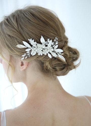 front_Winter Flower Headpiece