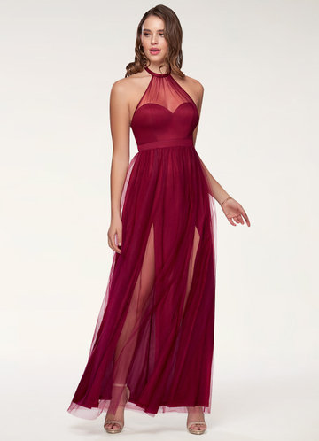 Last Christmas Burgundy Maxi Dress