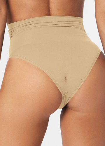 back_High Waisted Compression Panties
