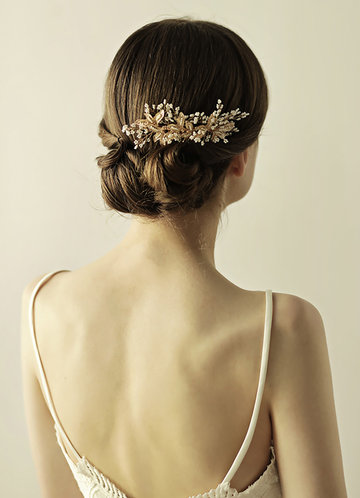 Gilded Flower Hour Comb