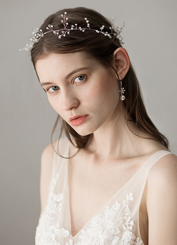 front_Ethereal Pearl Headband