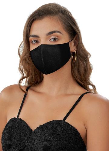 front_Non-Medical Velvet Reusable Face Mask