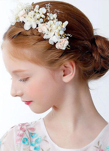 back_Athena Flower Girl Headpiece