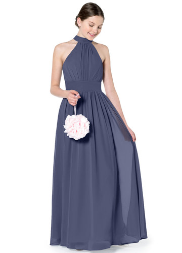 f19b15fc42 Azazie Iman Junior Bridesmaid Dress ...