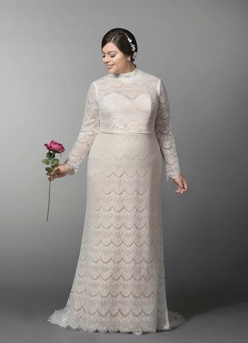 Azazie Ozette Wedding Dress