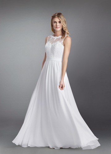 White Wedding Dresses | White Bridal Gowns - Azazie