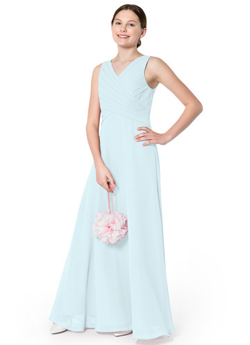 Azazie Flora Junior Bridesmaid Dress