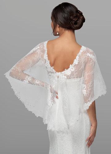back_Azazie Hodesh Lace Tulle Wrap