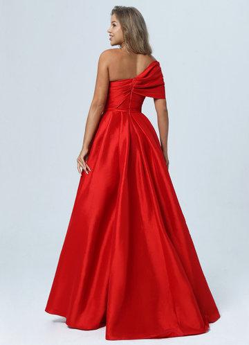 back_AZ Rebellious Rose Prom Dress