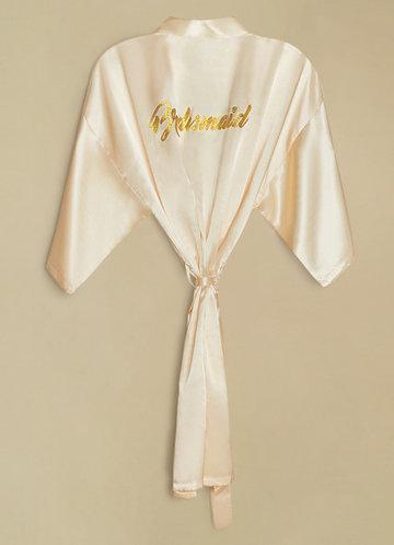 back_Bridesmaid Glitter Print Robe