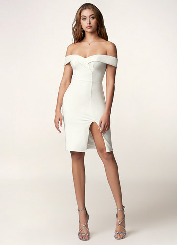 Your Song White Mini Dress