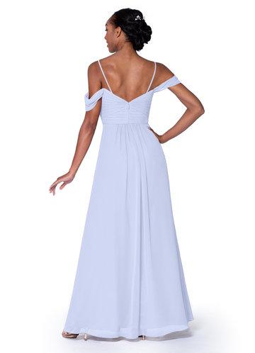 Quiz slate grey sweetheart chiffon maxi dress