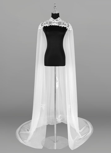 Azazie Guadalupe Lace Tulle Wrap