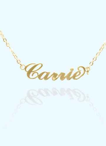 front_Classic Personalized Name Necklace