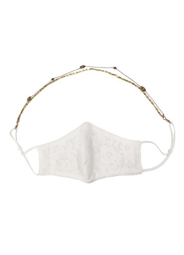 front_Convertible Face Mask Necklace Chain