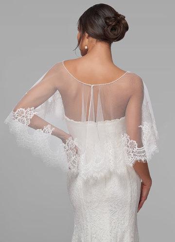 back_Azazie Delight Lace Tulle Wrap
