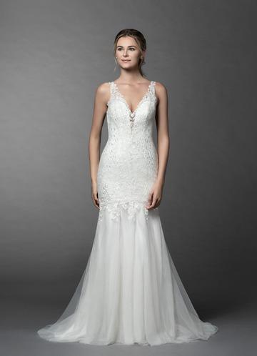 Azazie Saffron Wedding Dress