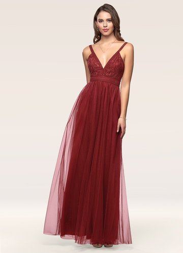 A Born Star Raspberry Maxi Dress