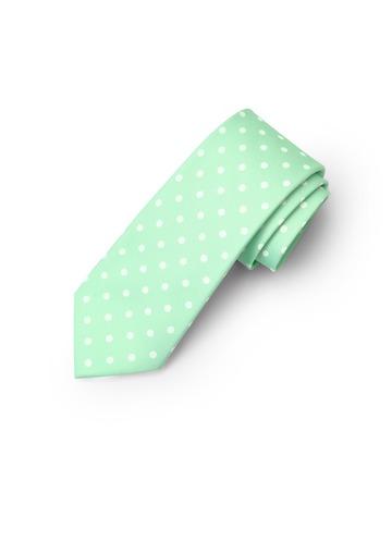 Gentlemen's Collection Polka Dots Boy's Neck Tie