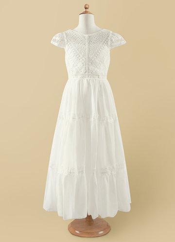 Azazie Evan Flower Girl Dress