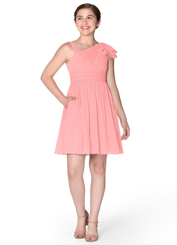 Azazie Beau Junior Bridesmaid Dress