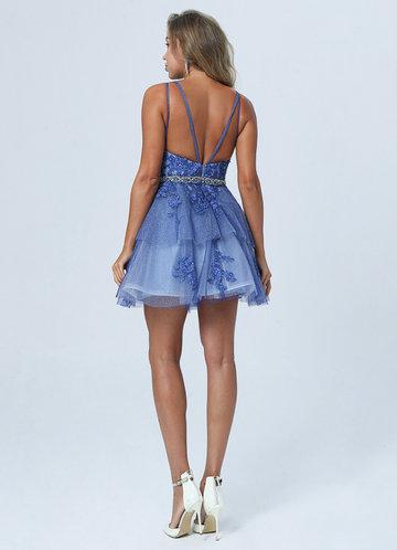 back_AZ Blue Belle Prom Dress