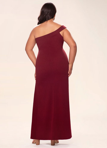 back_Blush Mark Plus Size Iconic  Maxi Dress