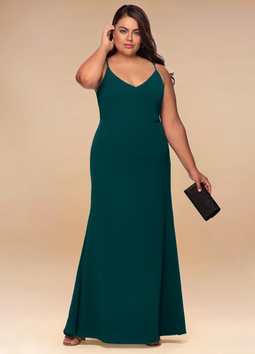 Lily Forest Green Maxi Dress