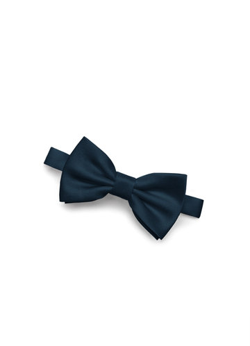 Gentlemen's Collection Boy's Matte Satin pre-tied bow tie