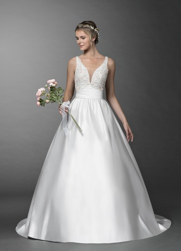Azazie Demetria Wedding Dress