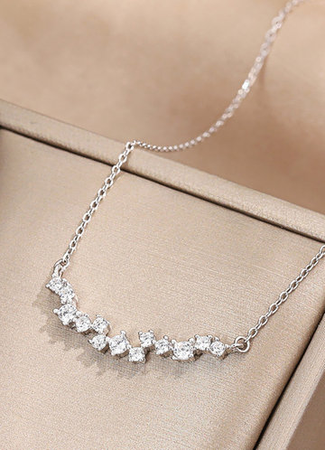 back_Simply You Crystal Necklace