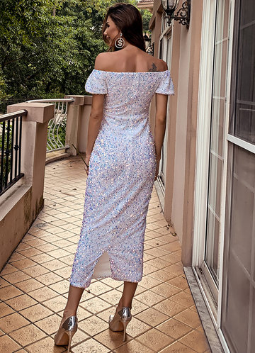 back_Missord Off Shoulder Split Hem Sequin Prom Dress
