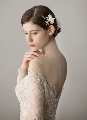 back_Elegant Tulle Headpieces