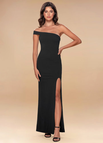 Iconic Black Maxi Dress