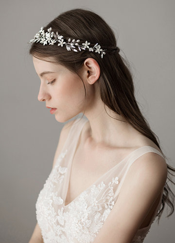 front_Ethereal Floral Headpieces