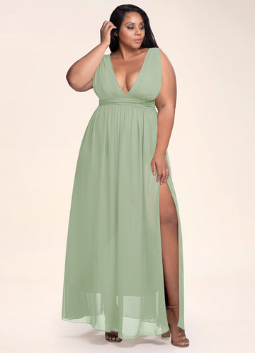 front_Blush Mark Plus Size Dancing Queen Maxi Dress