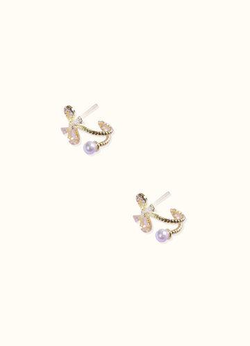 back_Gift-Wrapped Pearl Earrings
