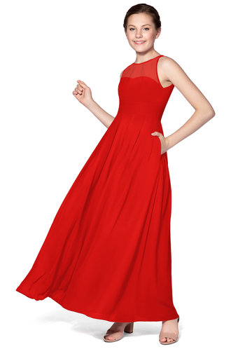 Azazie Bibiane Junior Bridesmaid Dress