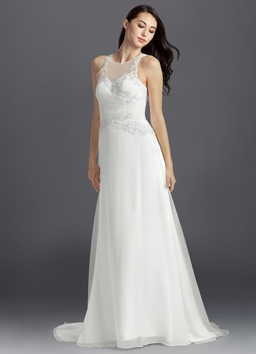 Azazie Bria Wedding Dress