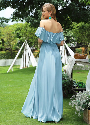 back_EVER-PRETTY Ruffle Off Shoulder Split Prom Dress