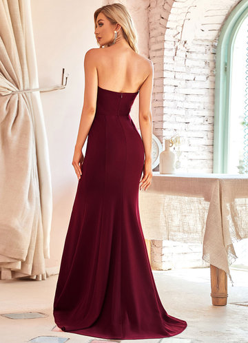 back_EVER-PRETTY High Waist Fishtail Hem Dress