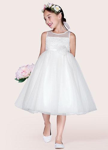 Azazie Elara Flower Girl Dress