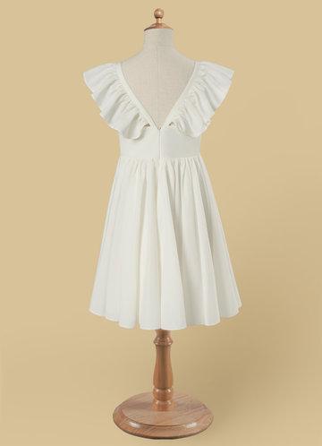 back_Azazie Roza Flower Girl Dress