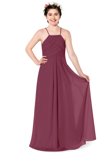 Azazie Ginger Junior Bridesmaid Dress