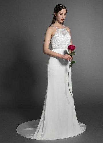 Azazie Tulip Wedding Dress