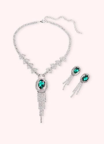 front_Exquisite Tassel Jewelry Set